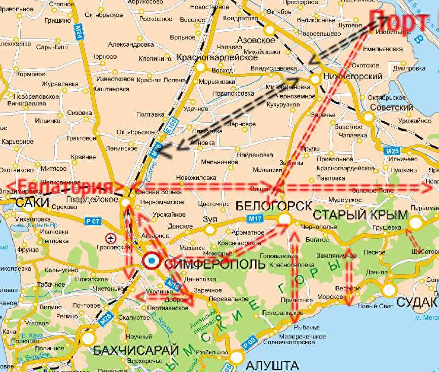 Транспортная логистика Крыма в