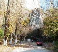 Ущелье Таш-аир с чешме (родником), к юго-востоку от Бахчисарая