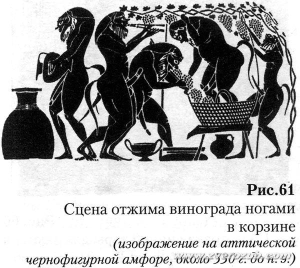 эллины не были изобретателями виноделия. и сами это отлично знали:)