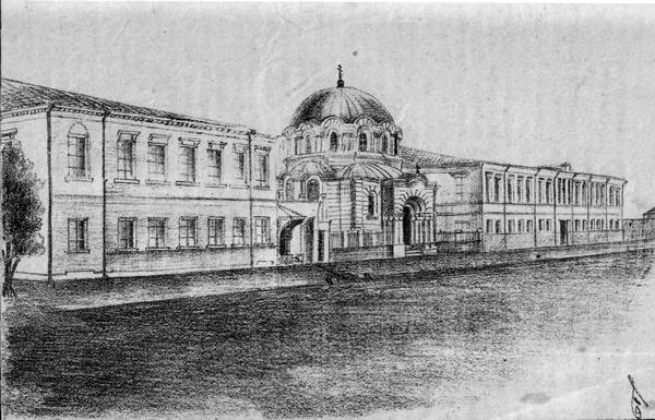 Здание Симферопольской мужской казенной гимназии (80-е гг. XIX века)