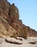 разрушение берегового обрыва между поселками Орловка и Кача (Севастополь, Крым)