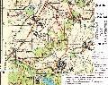 карта маршрута Симферополь - Холодная балка - Таш-Джарган - Каштановое - Бакла