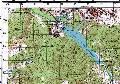 топографическая карта окрестностей Партизанского водохранилища