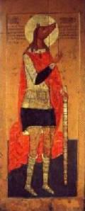 образ святого Христофора из православного собора в Свияжске