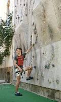 """скальная стенка в лагере """"Мандарин"""", западное побережье Крыма"""